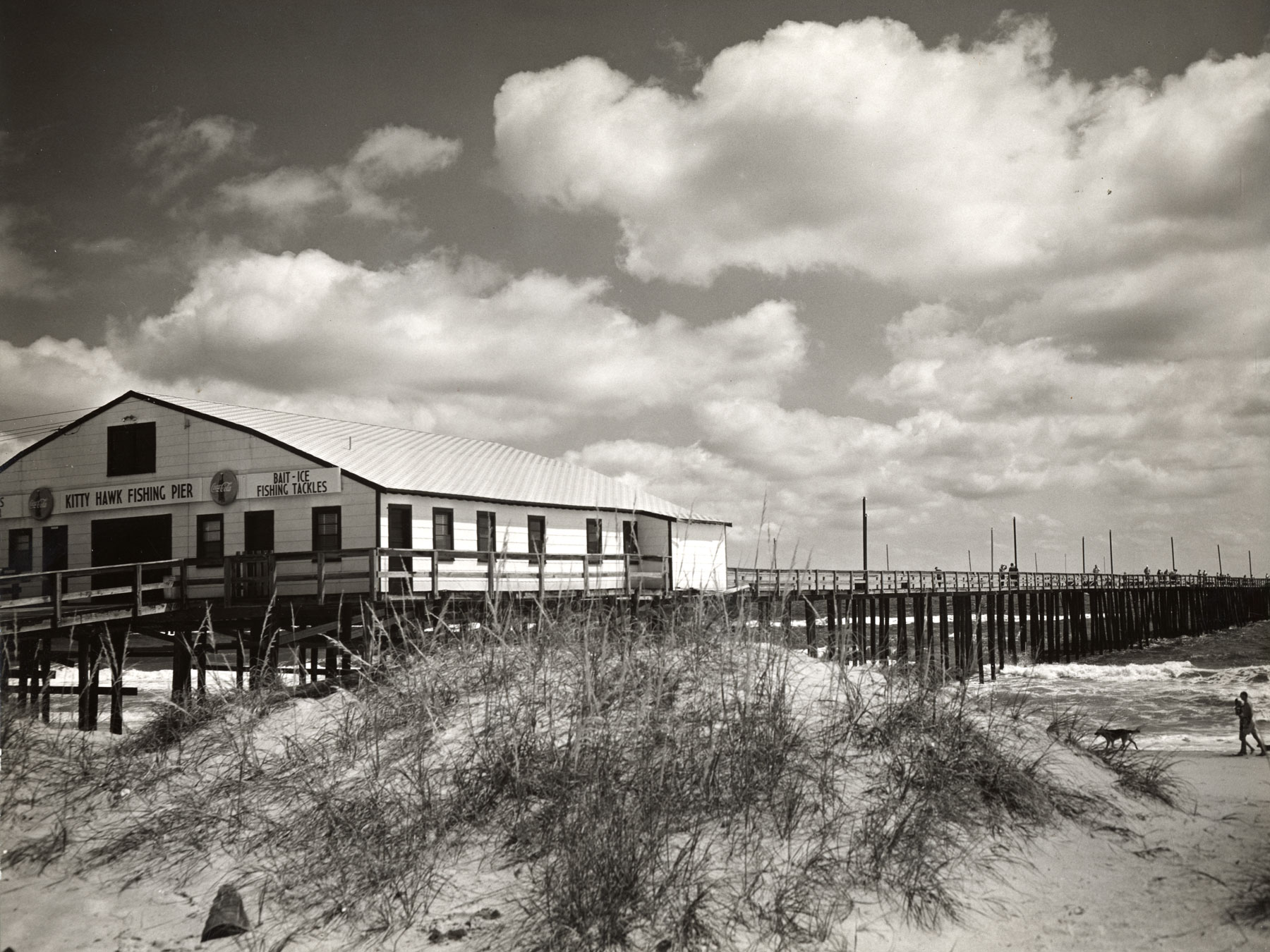 Photo of Kitty Hawk Pier | Photo by BJ Nixon, Outer Banks History Center